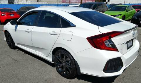 2019 Honda Civic for sale at Ivys Motorsport in Los Angeles CA