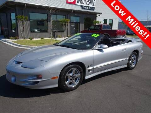 2002 Pontiac Firebird for sale at Wholesale Direct in Wilmington NC