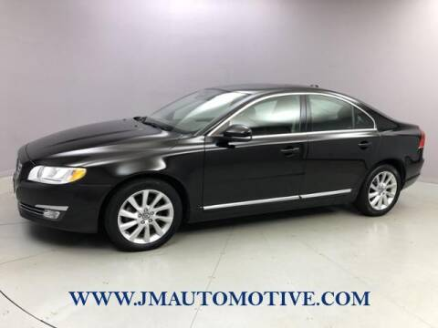 2014 Volvo S80 for sale at J & M Automotive in Naugatuck CT