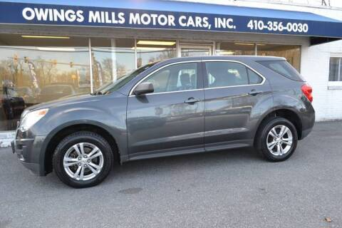 2011 Chevrolet Equinox for sale at Owings Mills Motor Cars in Owings Mills MD