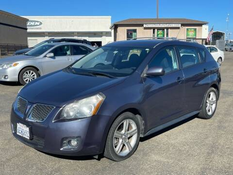 2009 Pontiac Vibe for sale at Deruelle's Auto Sales in Shingle Springs CA