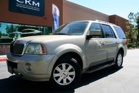 2004 Lincoln Navigator for sale at CK Motors in Murrieta CA
