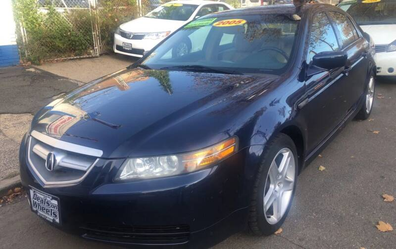 2005 Acura TL for sale at DEALS ON WHEELS in Newark NJ