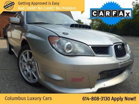 2006 Subaru Impreza for sale at Columbus Luxury Cars in Columbus OH