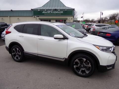 2017 Honda CR-V for sale at Jim O'Connor Select Auto in Oconomowoc WI