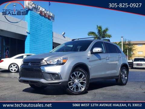 2019 Mitsubishi Outlander Sport for sale at Tech Auto Sales in Hialeah FL