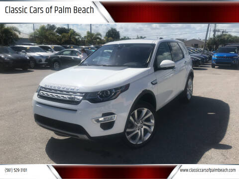 2017 Land Rover Discovery Sport for sale at Classic Cars of Palm Beach in Jupiter FL