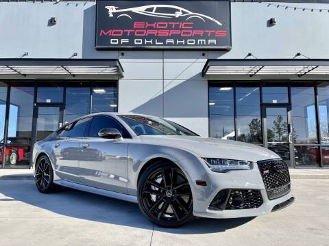 2018 Audi RS 7 for sale at Exotic Motorsports of Oklahoma in Edmond OK
