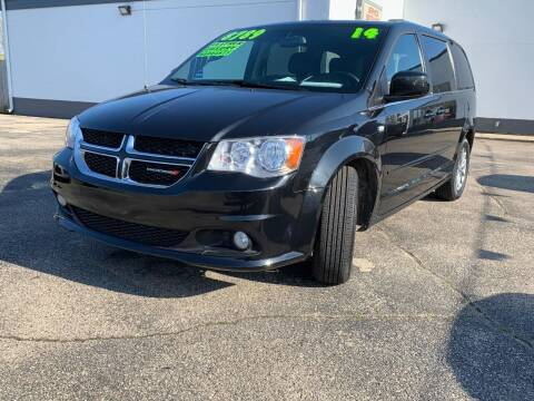 2014 Dodge Grand Caravan for sale at HIGHLINE AUTO LLC in Kenosha WI