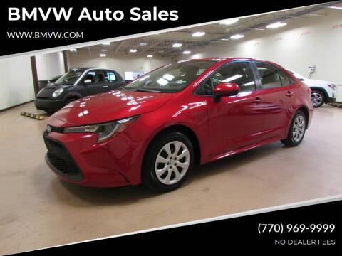 2020 Toyota Corolla for sale at BMVW Auto Sales in Union City GA