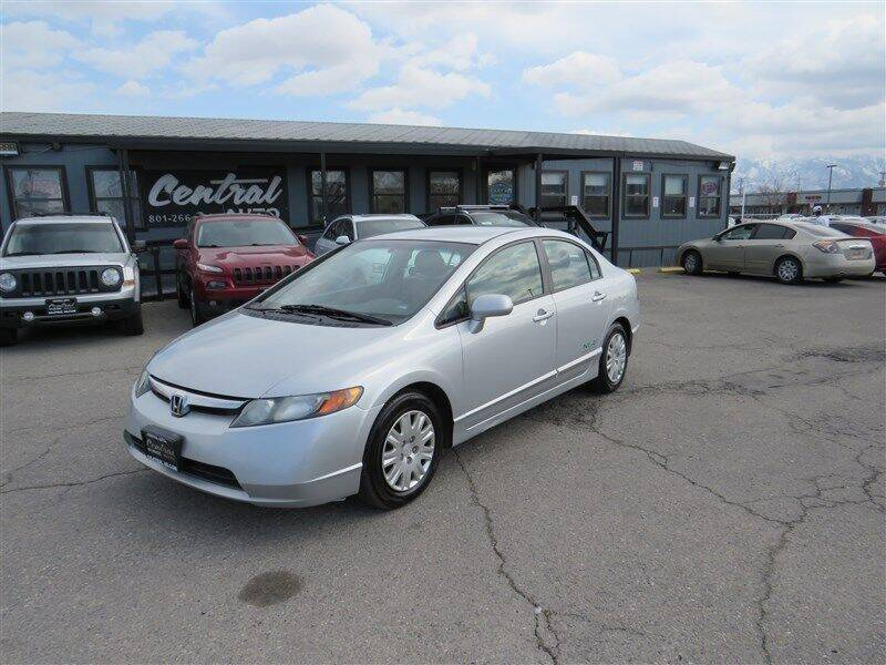 2008 Honda Civic for sale at Central Auto in South Salt Lake UT