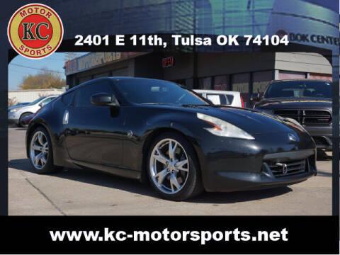 2010 Nissan 370Z for sale at KC MOTORSPORTS in Tulsa OK