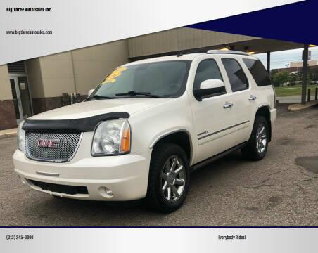2011 GMC Yukon for sale at Big Three Auto Sales Inc. in Detroit MI