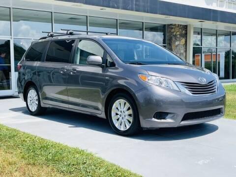 2016 Toyota Sienna for sale at RUSTY WALLACE CADILLAC GMC KIA in Morristown TN