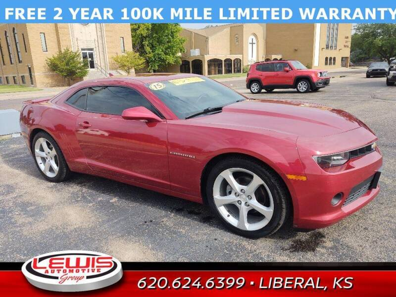 2015 Chevrolet Camaro for sale at Lewis Chevrolet Buick of Liberal in Liberal KS