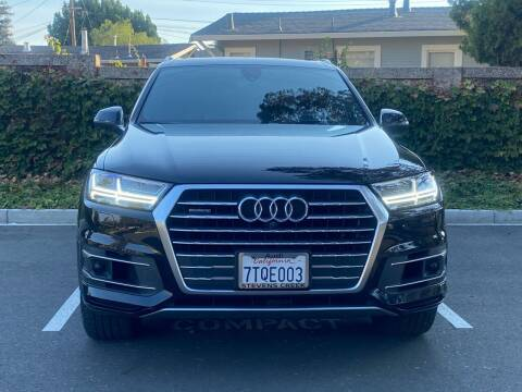 2017 Audi Q7 for sale at CARFORNIA SOLUTIONS in Hayward CA