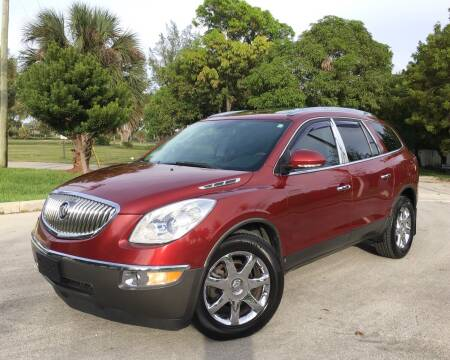 2010 Buick Enclave for sale at FIRST FLORIDA MOTOR SPORTS in Pompano Beach FL