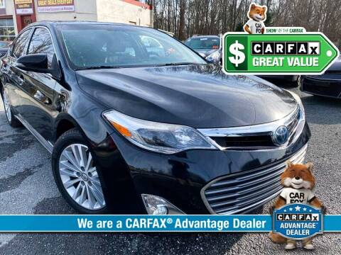 2013 Toyota Avalon Hybrid for sale at High Rated Auto Company in Abingdon MD