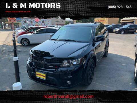 2018 Dodge Journey for sale at L & M MOTORS in Santa Maria CA