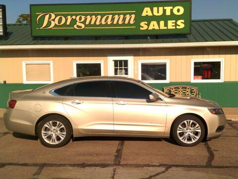 2014 Chevrolet Impala for sale at Borgmann Auto Sales in Norfolk NE