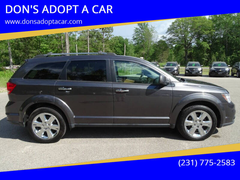 2014 Dodge Journey for sale at DON'S ADOPT A CAR in Cadillac MI