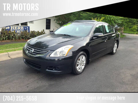2012 Nissan Altima for sale at TR MOTORS in Gastonia NC