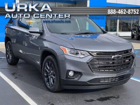 2021 Chevrolet Traverse for sale at Urka Auto Center in Ludington MI