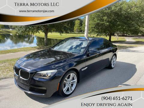 2012 BMW 7 Series for sale at Terra Motors LLC in Jacksonville FL