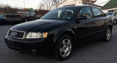 2004 Audi A4 for sale at Bik's Auto Sales in Camp Hill PA