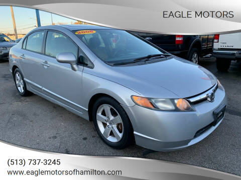 2008 Honda Civic for sale at Eagle Motors in Hamilton OH