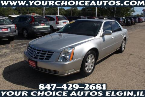 2008 Cadillac DTS for sale at Your Choice Autos - Elgin in Elgin IL