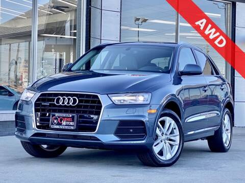 2017 Audi Q3 for sale at Carmel Motors in Indianapolis IN