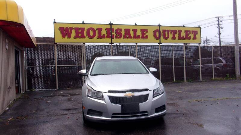 2012 Chevrolet Cruze for sale at LONG BROTHERS CAR COMPANY in Cleveland OH