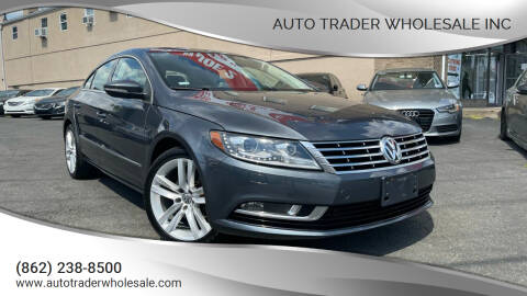 2014 Volkswagen CC for sale at Auto Trader Wholesale Inc in Saddle Brook NJ