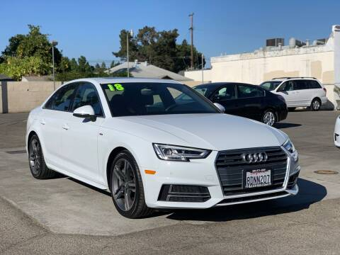 2018 Audi A4 for sale at H & K Auto Sales & Leasing in San Jose CA