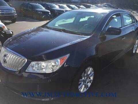 2012 Buick LaCrosse for sale at J & M Automotive in Naugatuck CT