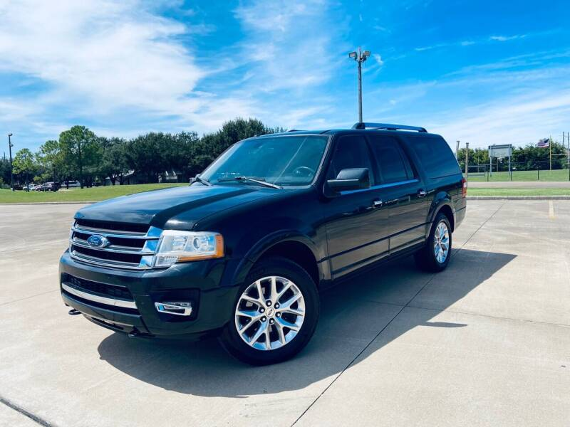 2015 Ford Expedition EL for sale at AUTO DIRECT Bellaire in Houston TX