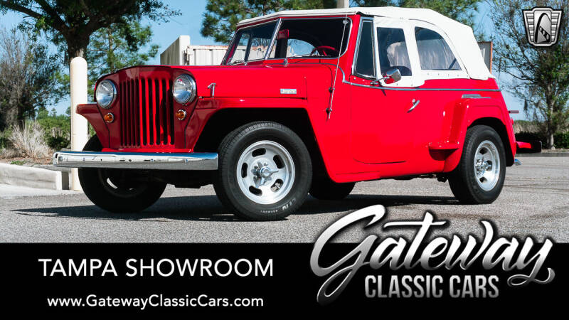 1949 Willys Jeepster for sale in Ruskin, FL