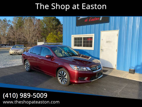 2015 Honda Accord Hybrid for sale at The Shop at Easton in Easton MD