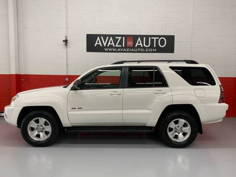 2003 Toyota 4Runner for sale at AVAZI AUTO GROUP LLC in Gaithersburg MD