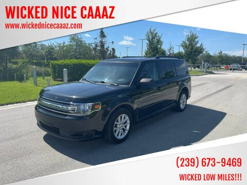 2014 Ford Flex for sale at WICKED NICE CAAAZ in Cape Coral FL