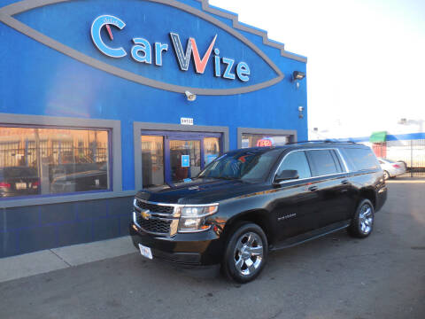 2015 Chevrolet Suburban for sale at Carwize in Detroit MI
