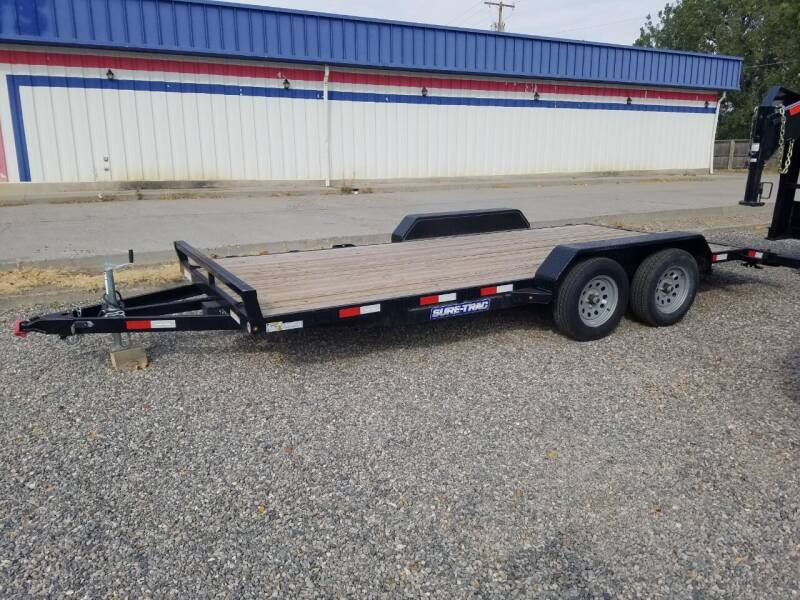 2020 Sure-Trac CAR HAULER for sale at Bull Mountain Auto, Truck & Trailer Sales in Roundup MT
