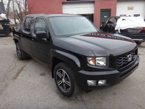2014 Honda Ridgeline for sale at I-Car Star Auto Sales Inc in Lowell MA