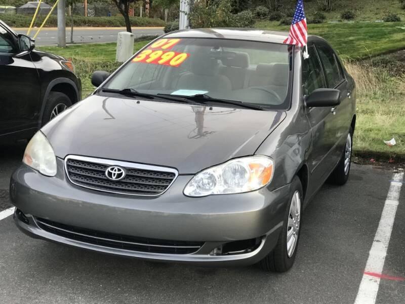 2007 Toyota Corolla for sale at Bayview Motor Club, LLC in Seatac WA