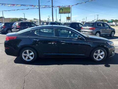 2014 Kia Optima for sale at Kenny's Auto Sales Inc. in Lowell NC