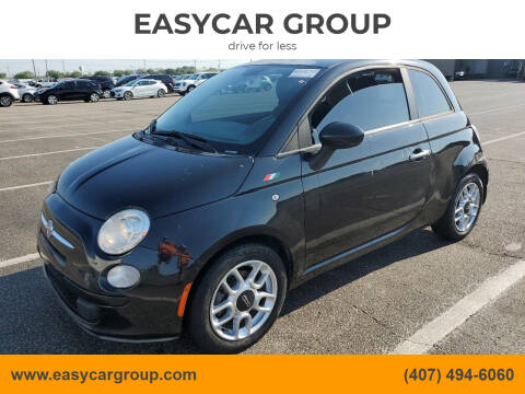 2012 FIAT 500 for sale at EASYCAR GROUP in Orlando FL