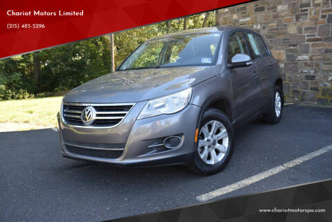 2009 Volkswagen Tiguan for sale at Chariot Motors Limited in Feasterville Trevose PA