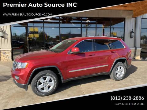 2012 Jeep Grand Cherokee for sale at Premier Auto Source INC in Terre Haute IN