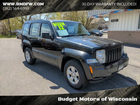 2012 Jeep Liberty for sale at Budget Motors of Wisconsin in Racine WI